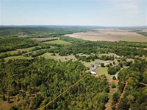 4.3 Acre Homesite With Great : Bigelow : Perry County : Arkansas