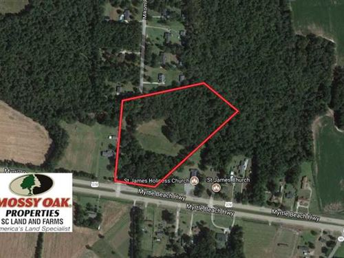 Under Contract, 10 Acres of Farm : Sumter : South Carolina