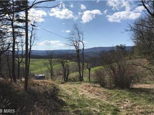 Unrestricted Land For Sale : Baker : Hardy County : West Virginia