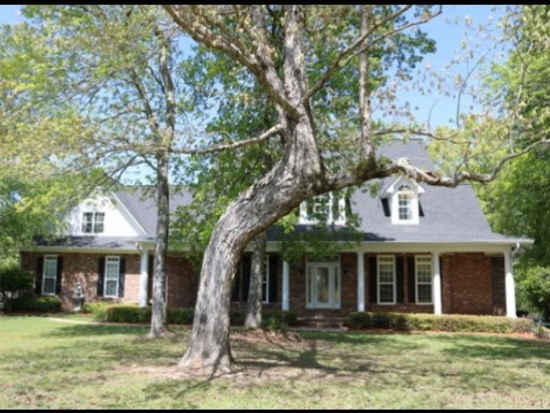 12 Acres, Home In Lauderdale Count : Enterprise : Lauderdale County : Mississippi