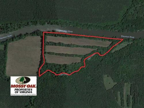 Reduced, 31 Acres of Riverfront : Halifax : Virginia