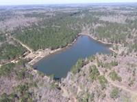 Incredible 51 Acre Tract With Lake : Forsyth : Monroe County : Georgia