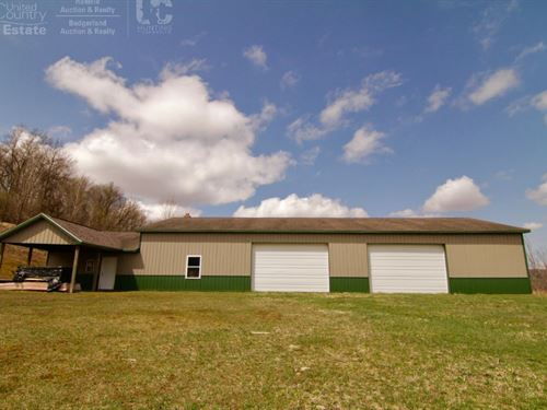 Outstanding River Front Property : La Farge : Vernon County : Wisconsin