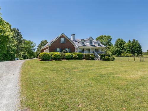 Beautiful 4Bd/2Ba Home On 5+ Acres : Monroe : Walton County : Georgia