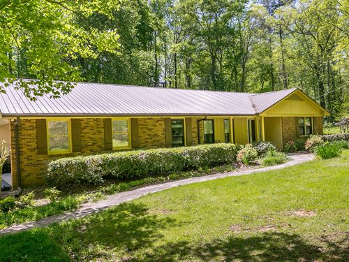 13+ Acres W/ Creek & Renovated Home : Colbert : Walton County : Georgia