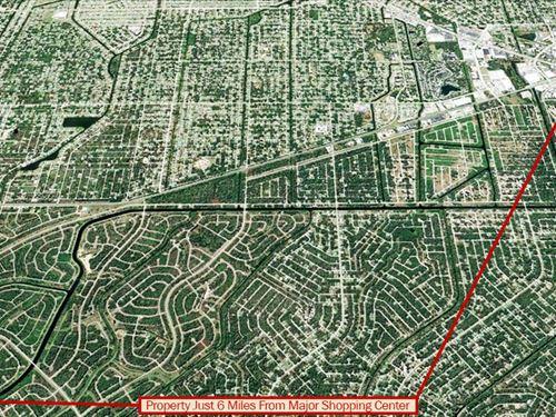 Quarter Acre Parcel In Florida : North Port : Sarasota County : Florida