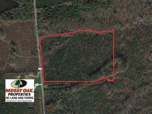 Under Contract, 25.04 Acres of Hu : Macon : Warren County : North Carolina