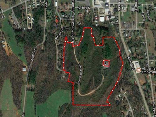Very Private 46 +/- Acres : Blountsville : Blount County : Alabama