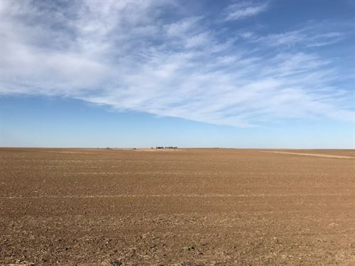 Full Section Of Tillable Farm Land : Pratt : Osage County : Kansas