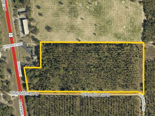 Prime Development Land On Us Hwy 27 : Leesburg : Lake County : Florida