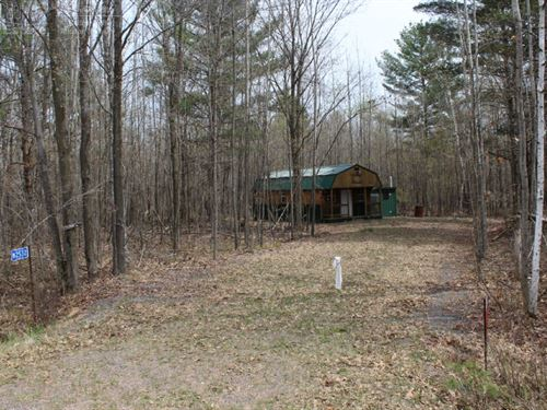 Sought After Hunting Property : Granton : Clark County : Wisconsin