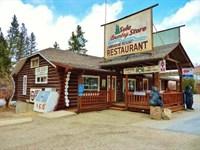 Sula Store, Log Home, Cabins, Rv Pa : Darby : Ravalli County : Montana