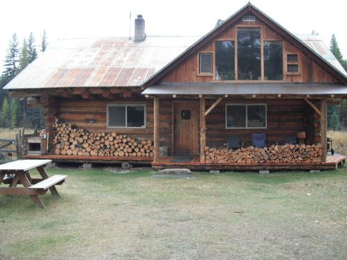 Remote Riverfront Off-Grid Living : Yaak : Lincoln County : Montana
