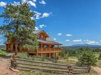 Pikes View Ranch : Florissant : Park County : Colorado