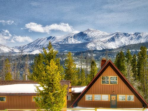 A-Frame Swiss Chalet : Anaconda : Deer Lodge County : Montana