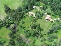 Self Sustaining Farm : Trout Creek : Sanders County : Montana