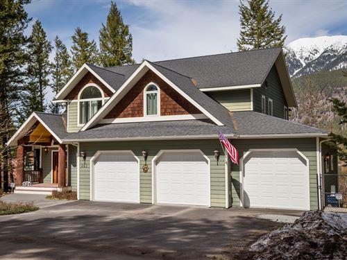 Luxury Lakefront Living : Kalispell : Flathead County : Montana