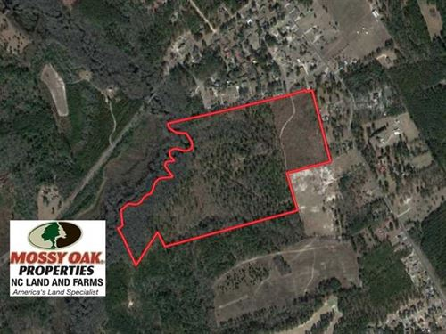 Under Contract, 67.61 Acres of Hu : Laurinburg : Scotland County : North Carolina