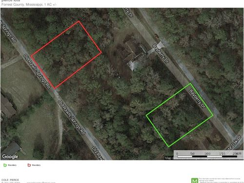 2 Home Sites For Sale Spring Forres : Hattiesburg : Forrest County : Mississippi