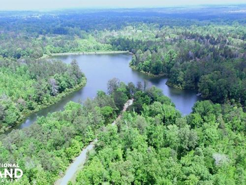 Flat Woods Lake Hunting, Fishing, : Fort Deposit : Lowndes County : Alabama