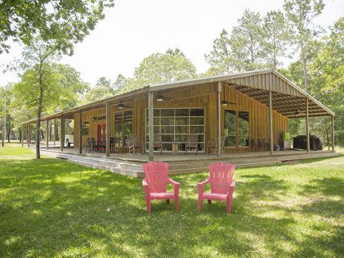 Old Johnson Farm Acres : Trinity : Walker County : Texas