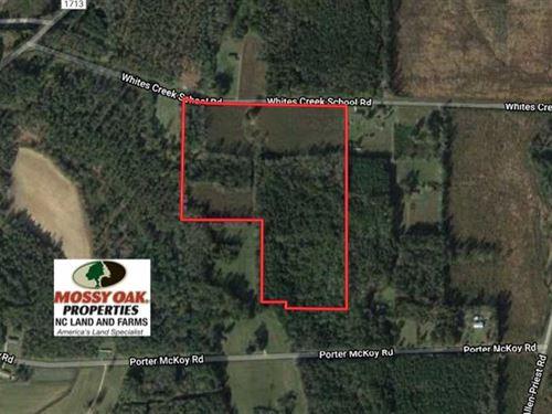 Under Contract, 26 Acres of Farm : Council : Bladen County : North Carolina