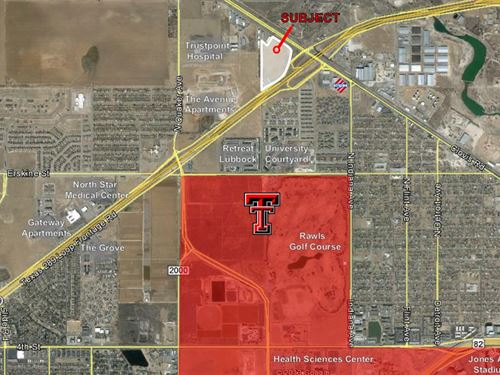 Auction Prime Dev Land - Fwy Access : Lubbock : Texas