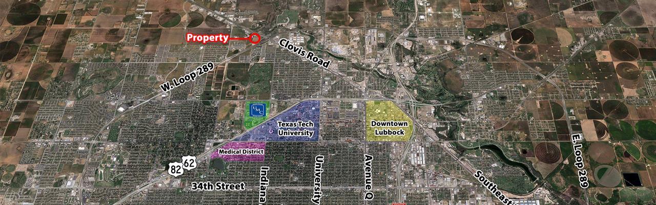 Development Land Prime Location : Lubbock : Texas