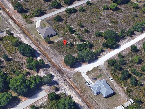 .25 Acres In Lehigh Acres, FL : Lehigh Acres : Lee County : Florida
