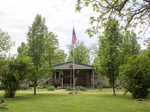 45 Acres And Ranch Style Home - Da : Urbana : Dallas County : Missouri