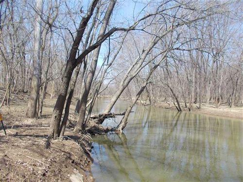 Otter Creek River Bottoms : Terre Haute : Vigo County : Indiana