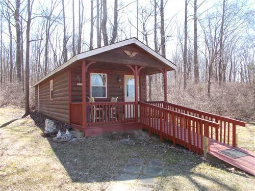 The Little Homes In The Woods : Rosedale : Parke County : Indiana