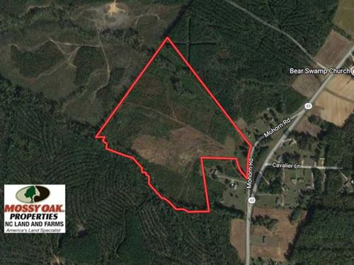 50.77 Acres of Hunting Land For Sa : Littleton : Halifax County : North Carolina