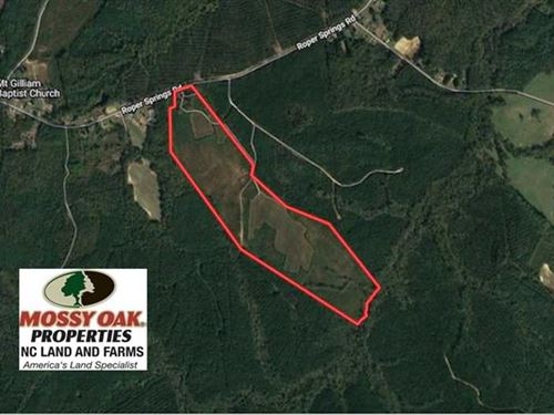 Under Contract, 102 Acres of Hunt : Littleton : Halifax County : North Carolina