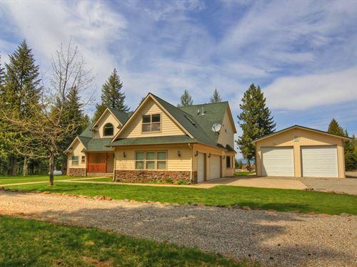 North Idaho Recreation Destination : Athol : Kootenai County : Idaho