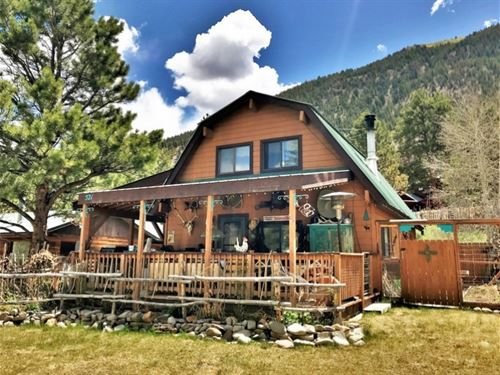 Quaint Cowboy Cabin : Lake City : Hinsdale County : Colorado