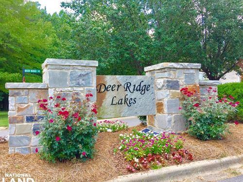 Deer Ridge Lakes Lot 607 in Pelham : Pelham : Shelby County : Alabama