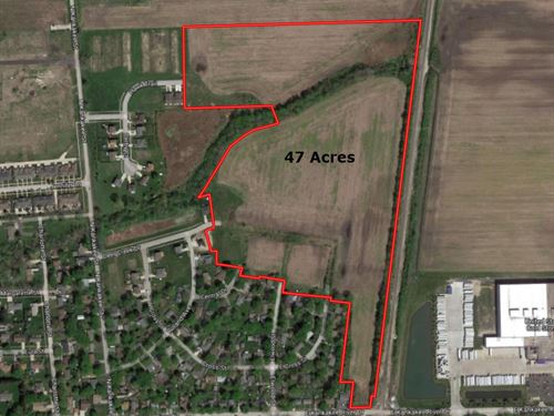 47 Ac Wilmington Development Site : Wilmington : Will County : Illinois