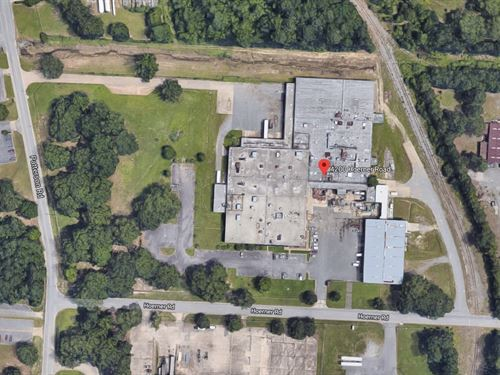 Foreclosure Auction Industrial Bldg : Little Rock : Pulaski County : Arkansas