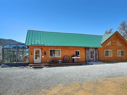 8669996, Nestled On A Hill With Sp : Villa Grove : Saguache County : Colorado