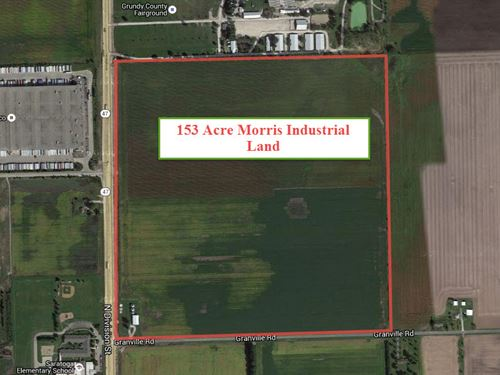 153 Acre Rt 47 Morris Industrial : Morris : Grundy County : Illinois