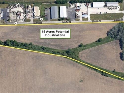 15 Ac Gast Industrial Site : Joliet : Will County : Illinois