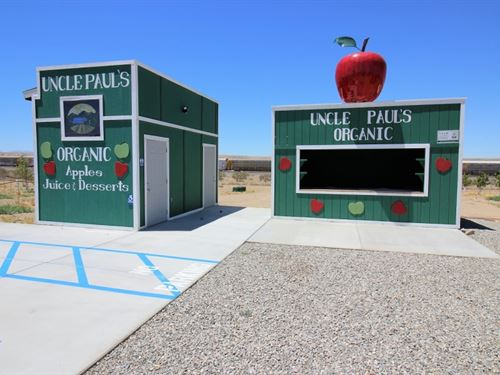 Turnkey Apple Orchard Investment Op : Helendale : San Bernardino County : California