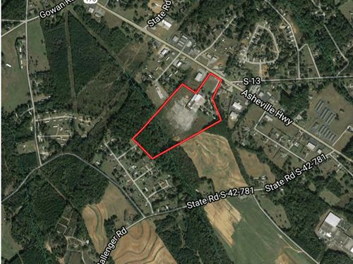 Mixed Use Commercial Land/Building : Inman : Spartanburg County : South Carolina