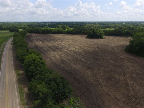 Tillable Farm Land : Roxton : Lamar County : Texas