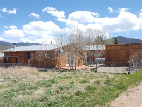 1904304, Great Little Cabin In The : Sargents : Saguache County : Colorado