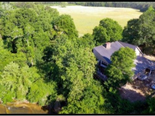 Waterfront Home With 20 Acres In Wa : Tylertown : Walthall County : Mississippi