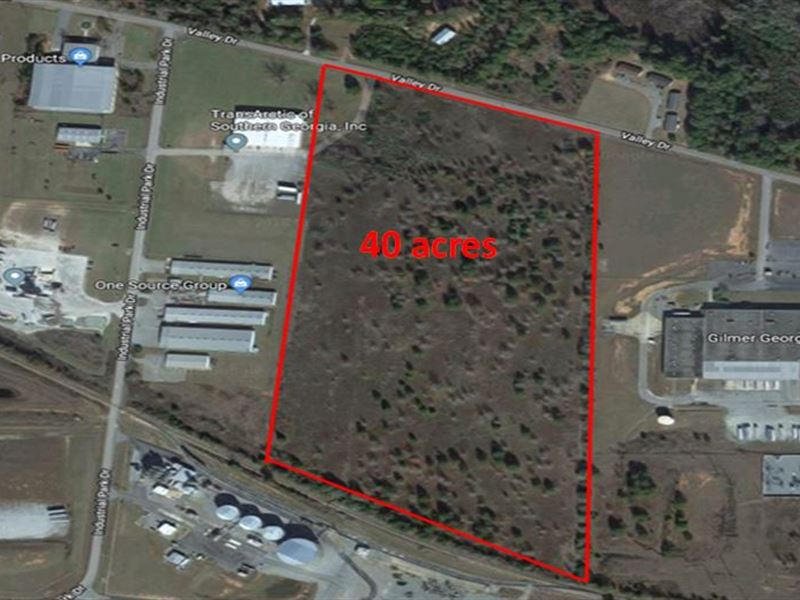 40 Acre Commercial Lot Available : Perry : Houston County : Georgia