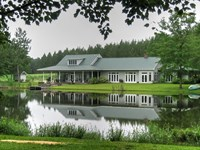 Beautiful Home W/ Pond And View : Twin City : Emanuel County : Georgia