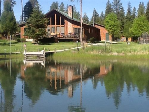 Exclusive Holland Creek Home : Condon : Missoula County : Montana